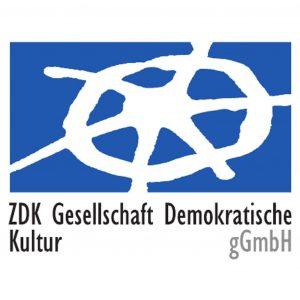 Logo: ZDK Gesellschaft Demokratische Kultur gGmbH
